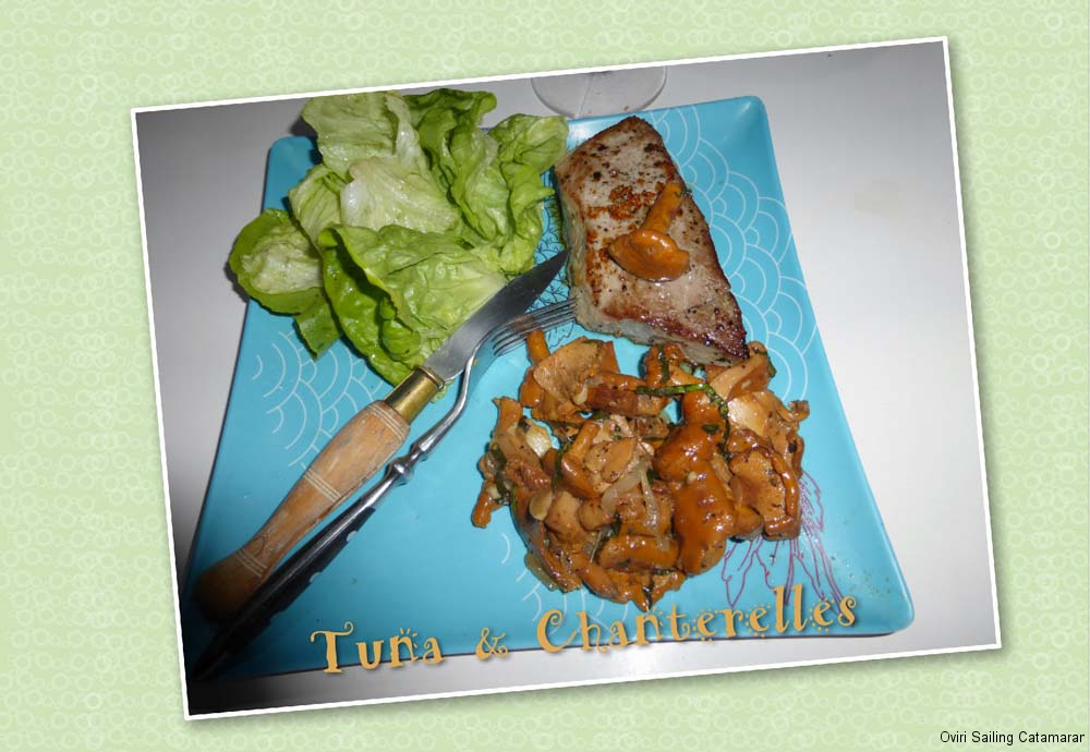 Tuna Chanterelles